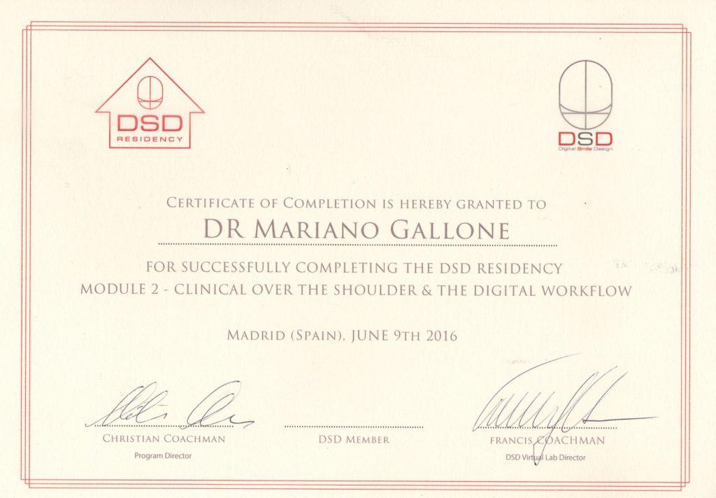 Corso certificazione modulo II° Digital Smile Design