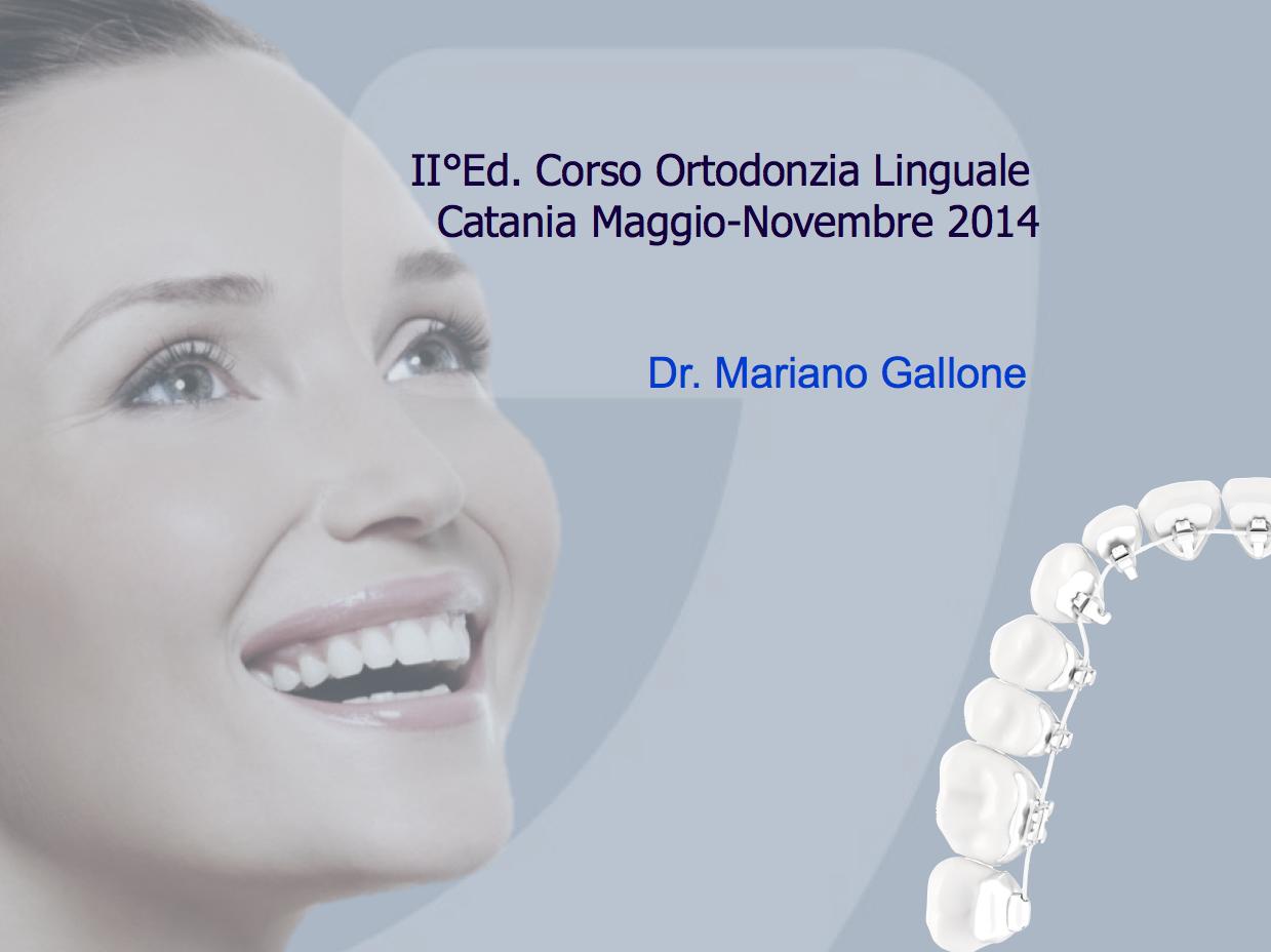 Corso Ortodonzia Linguale 2014